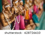 colorful decorations of indian... | Shutterstock . vector #628726610