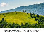 beautiful summer landscape.... | Shutterstock . vector #628728764