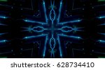 futuristic lights | Shutterstock . vector #628734410
