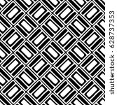 seamless vector pattern. black... | Shutterstock .eps vector #628737353
