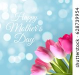 happy mother s day cute... | Shutterstock .eps vector #628739954
