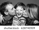 happy family | Shutterstock . vector #628740509