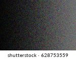design element.  digital noise. ... | Shutterstock .eps vector #628753559