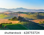 Classic View Of Scenic Tuscany...
