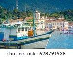 paraty  rio de janeiro   brazil. | Shutterstock . vector #628791938