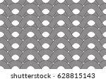 vector seamless pattern. modern ... | Shutterstock .eps vector #628815143