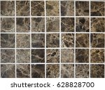 Small photo of Background of natural squares tile screech marble