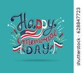 vector illustration happy... | Shutterstock .eps vector #628847723
