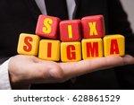 six sigma   Shutterstock . vector #628861529