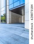 empty pavement and modern... | Shutterstock . vector #628873184