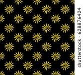 a vector seamless pattern  made ... | Shutterstock .eps vector #628876424