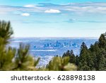 view of downtown denver... | Shutterstock . vector #628898138