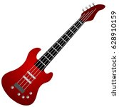 musical instrument electric...   Shutterstock .eps vector #628910159