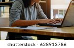 education concept. students... | Shutterstock . vector #628913786