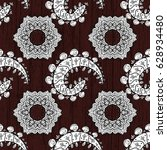 brown background with white...   Shutterstock .eps vector #628934480