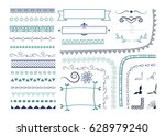 page and text decorative... | Shutterstock .eps vector #628979240