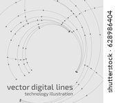 vector abstract background.... | Shutterstock .eps vector #628986404