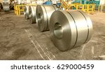 cold rolled steel coils in... | Shutterstock . vector #629000459