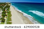 coastline of palm beach  aerial ... | Shutterstock . vector #629000528