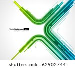 abstract retro technology lines ... | Shutterstock .eps vector #62902744