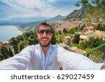 Panorama Of Taormina  Sicily ...