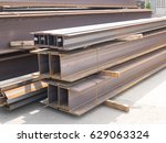 h beam construction   Shutterstock . vector #629063324