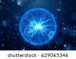 abstract science background and ... | Shutterstock . vector #629065346