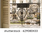 Balcony With Decorative Railing ...