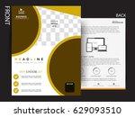 business flyer   broucher... | Shutterstock .eps vector #629093510