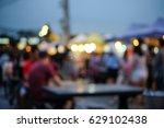 blurred image of people walking ... | Shutterstock . vector #629102438