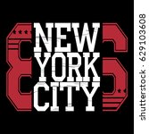 new york  typography fashion... | Shutterstock .eps vector #629103608