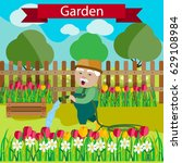 vector illustration of... | Shutterstock .eps vector #629108984