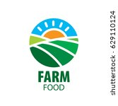 logo farm food | Shutterstock .eps vector #629110124