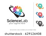 science lab logo template... | Shutterstock .eps vector #629126408