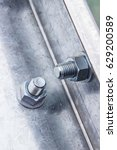 Bolt And Nut On Steel Structure
