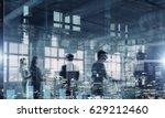 partners agreement handshake | Shutterstock . vector #629212460