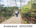 surat thani  thailand   april... | Shutterstock . vector #629219300