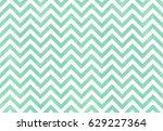 watercolor seafoam blue stripes ...   Shutterstock . vector #629227364