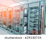 electrical cabinet | Shutterstock . vector #629230724