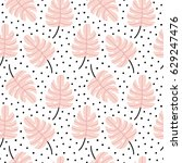 seamless repeating pattern with ... | Shutterstock .eps vector #629247476