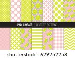 Pink Limeade Vector Patterns....