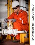 technician  technician during...   Shutterstock . vector #629294570