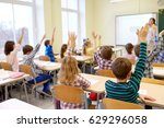 education  elementary school ... | Shutterstock . vector #629296058
