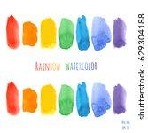 vector set of rainbow...   Shutterstock .eps vector #629304188