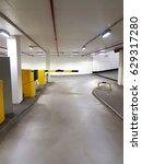 parking barrier gate in garage... | Shutterstock . vector #629317280