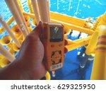 personal gas detector | Shutterstock . vector #629325950