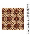 ceplok parang batik  is a... | Shutterstock .eps vector #629330870