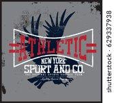 sport t shirt graphic | Shutterstock .eps vector #629337938