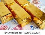gold bar concept. finance... | Shutterstock . vector #629366234