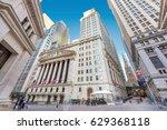 new york city   june 25  a view ... | Shutterstock . vector #629368118